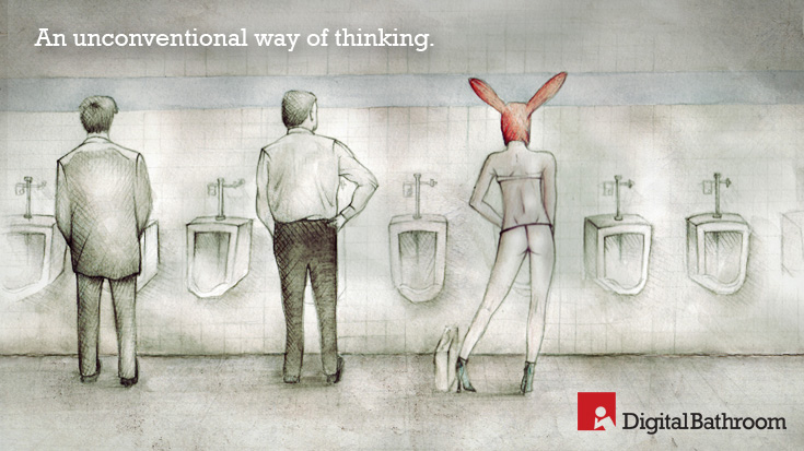Digital Bathroom | Unconventional Way of Thinking